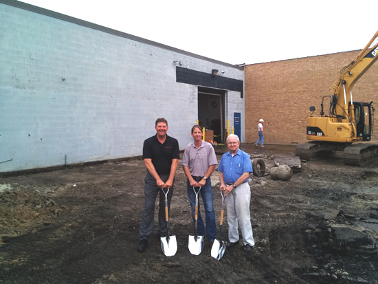 Sko-Die Breaks Ground on Addition to the Manufacturing Facility