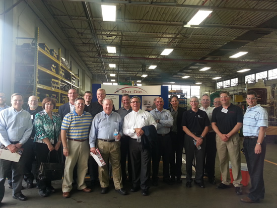 Sko-Die Hosts a Tour for PMA Sales and Marketing Professionals